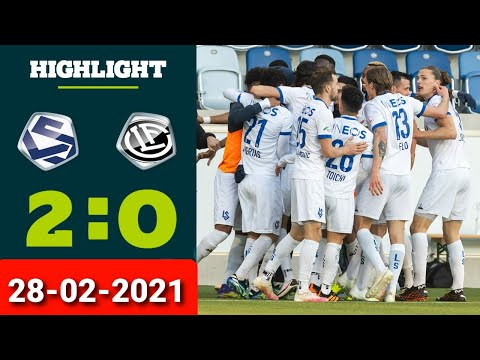 Lausanne Lugano Goals And Highlights