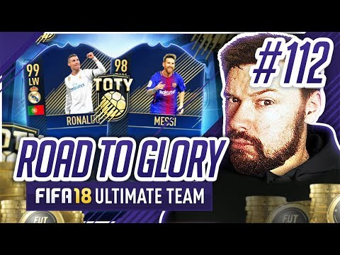 TOTY ATTACKERS ARE HERE! - #FIFA18 Road to Glory! #112 Ultimate Team