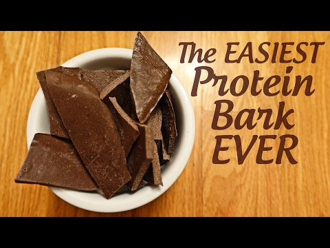 EASIEST Protein Bark Recipe Ever! | Tiger Fitness