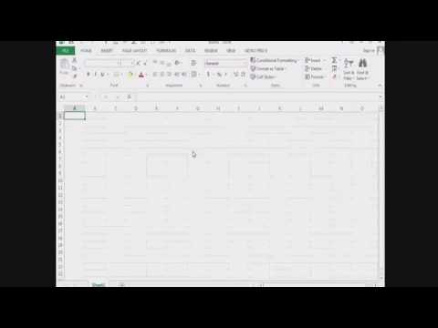 How to use excel for enter enrollment of students.
