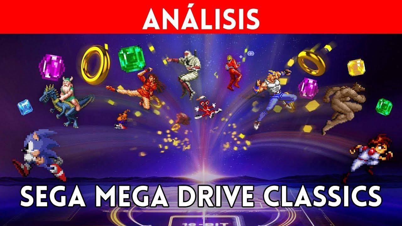 Analisis Sega Mega Drive Classics 50 Clasicos De Megadrive Genesis