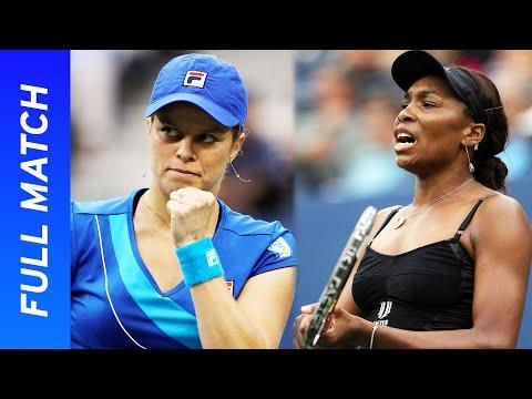 Kim Clijsters Vs Venus Williams In Three-set Thriller! | US Open 2010 Semifinal
