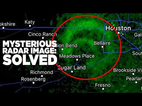 Mysterious Image On Weather Radar Is Solved