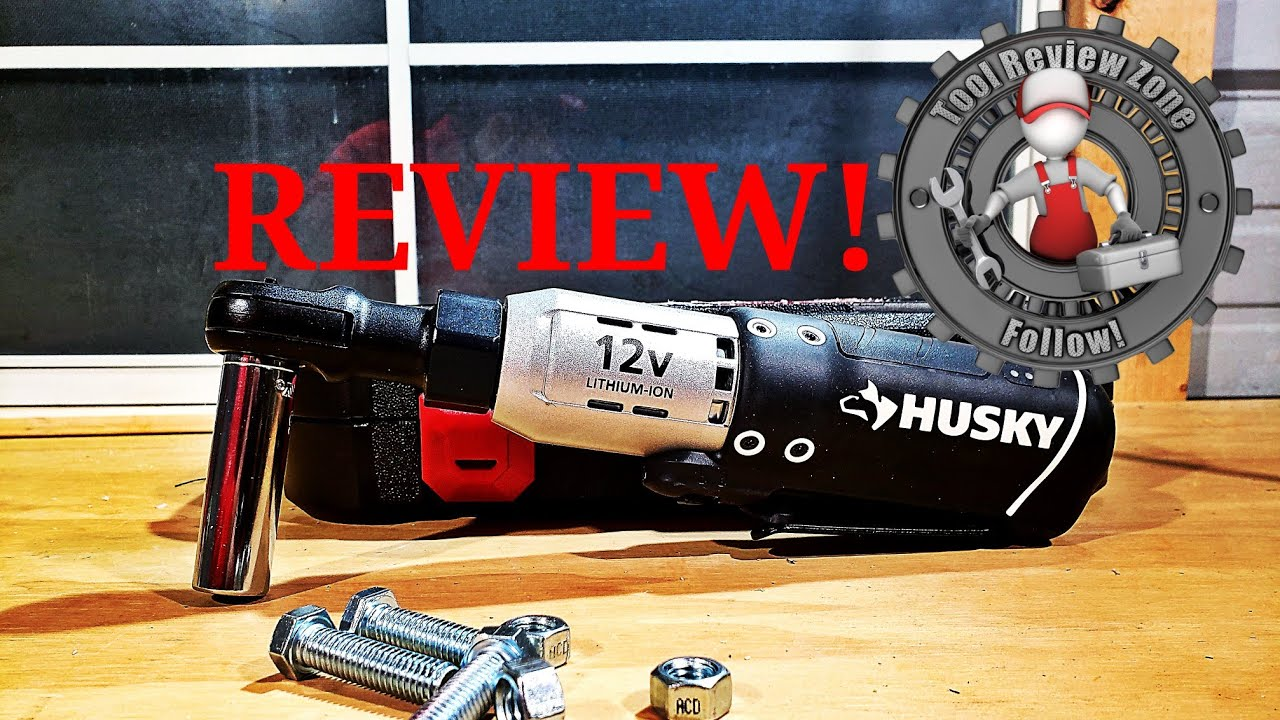 004e8b8ed596 Husky 12-Volt 3 8 in. Drive Cordless Ratchet REVIEW! (H38CPRAT34PC)   toolreviews  powertools