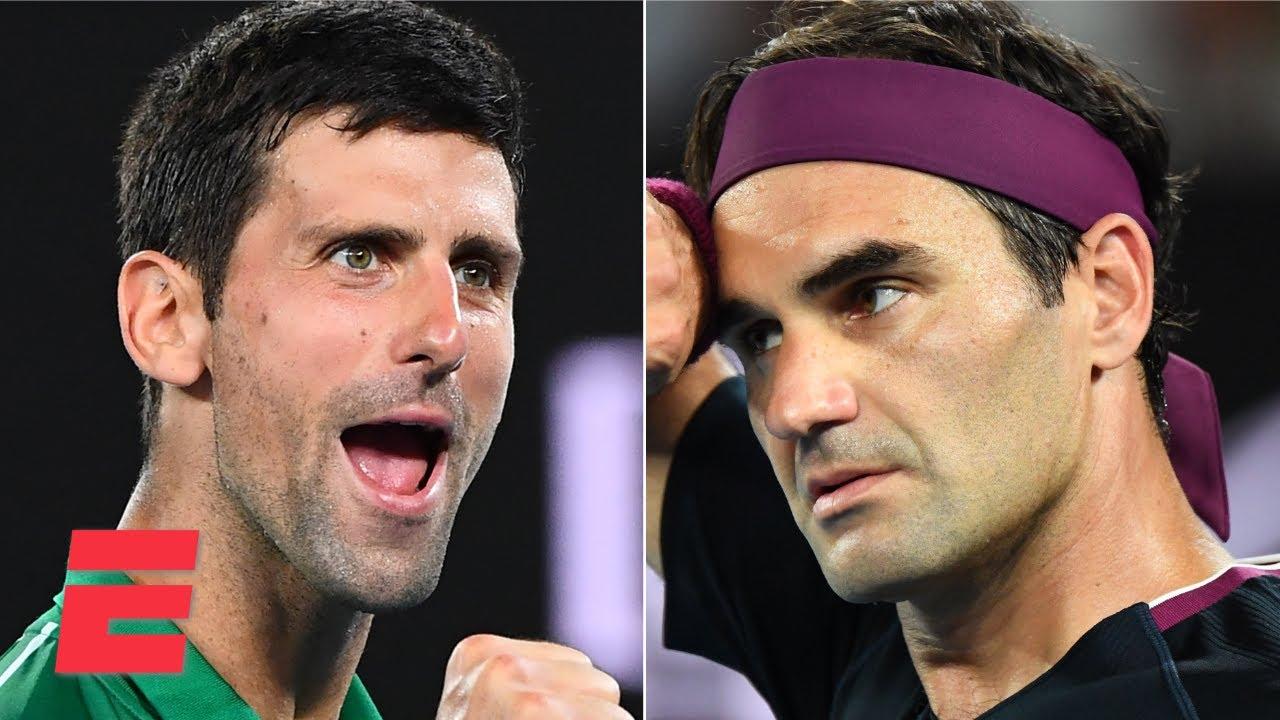 Novak Djokovic beats Roger Federer in Australian Open semis