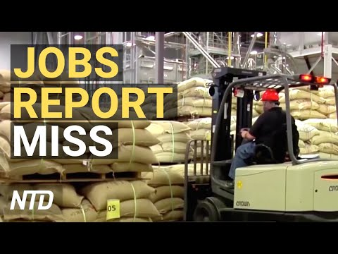 Job Growth Takes Giant Step Back; Amazon: Don't Screen Drivers For Marijuana | NTD Business