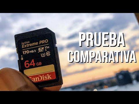 Sandisk Extreme Pro 64 Review y Unboxing en Español