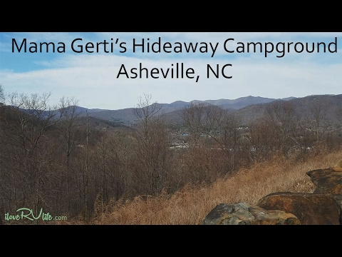 Mama Gerti's Hideaway Campground | Asheville NC
