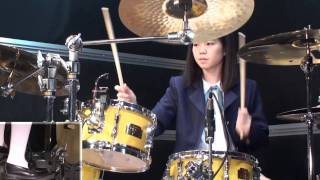 k on u i cover only drums けいおん 劇中歌 ドラムのみ