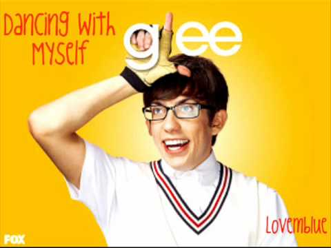 GLEE - Dancing with Myself -Artie solo- (with LYRICS)