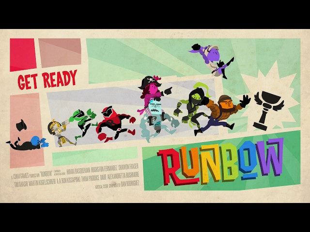 Runbow - Getting the achievemnet for Bowhemoth in less than 20 minutes (XB1/PS4)