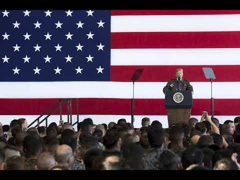 President Trump Warns Enemies: Dont Underestimate American Resolve