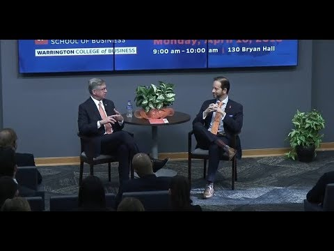 SunTrust CEO Bill Rogers at UF Warrington