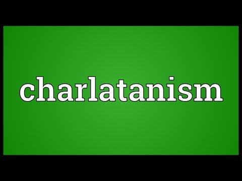 Header of charlatanism
