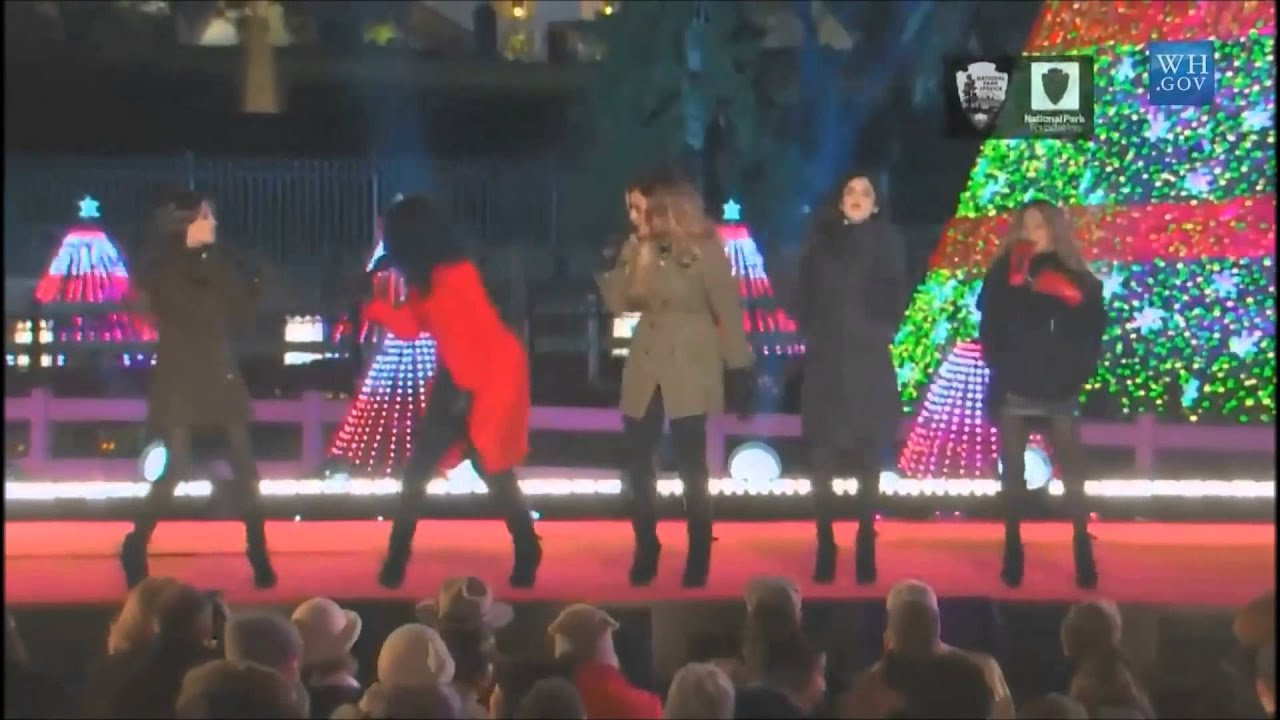 Fifth Harmony All I Want For Christmas Is You.Fifth Harmony All I Want For Christmas Is You Christmas Tree Lighting 2014
