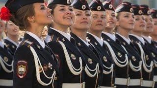 Русские девушки в погонах, самые красивые!!!