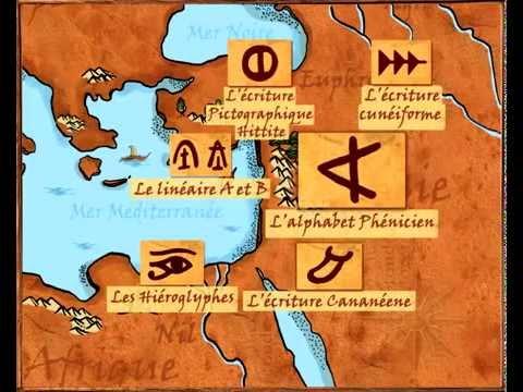 Alphabet Phénicien (the Phoenician Alphabet)
