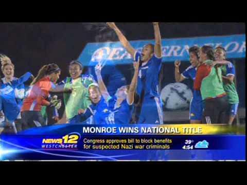 Monroe Mustangs women's soccer - News 12  12_5_14