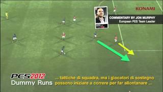 PES 2012  Gameplay italiano Video 03 - Corse finte senza palla - HD ITA