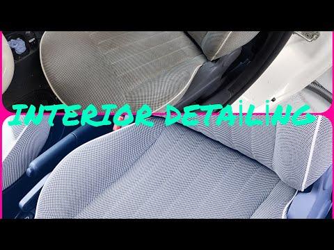 FIAT 500 Interior Detailing (#Teamdrechsler)