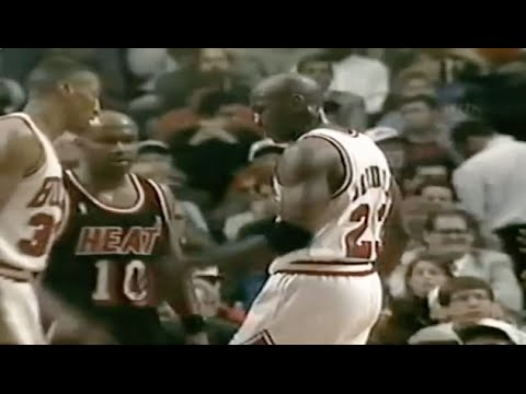Michael Jordan Defense on Tim Hardaway - 1996 1st Rd Game 1