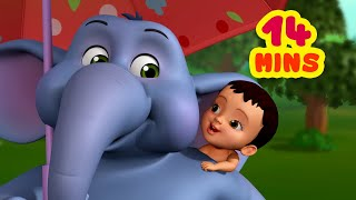 Cute Little Hati - The Elephant Rhyme | Bengali Rhymes for Children Collection | Infobells