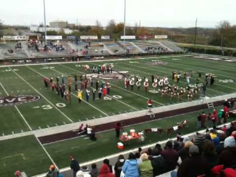 2012 EKU Marching Colonels Halloween Halftime.MOV