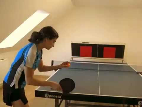 Power Returnboard Variant Best Ping Pong Rallies Youtube