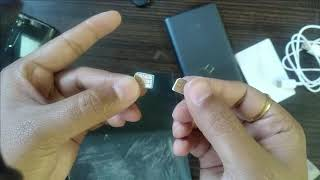 Sim Hack Convert Micro Sim to Nano Sim during Covid19 Lockdown for my New LG Wing Phone at home