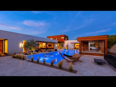Ultra Modern Home For Sale Las Vegas | $3M | 4,055 Sqft | 3 Beds | Loft | 4 Baths | 4 Car | 1 Acre