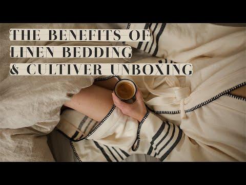 The Benefits of Linen Bedding - Le Temps D'un Café