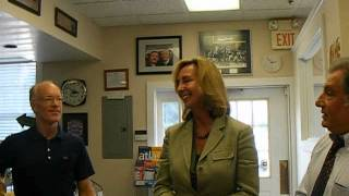 Sen Kelly Ayotte & Lt Gov Kerry Healey in Hollis 9 7 12