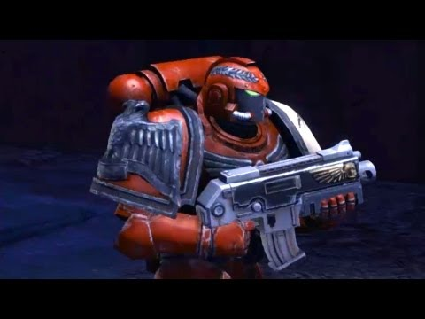 Blood Ravens: Tactical Squad and Captain Titus Fight with Chaos SM (Warhammer 40k: Space Marine)