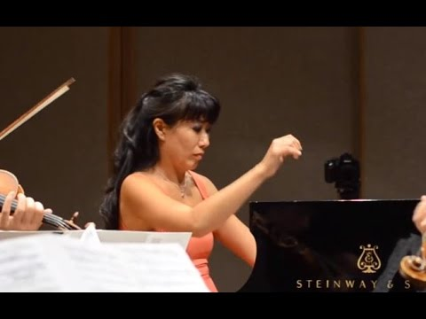 Chopin: Concerto No. 1, 3rd mvt, Lorraine Min & ECSQ Live (Chamber Version with String Quartet)