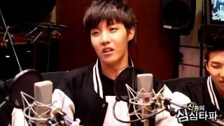 신동의 심심타파 - BTS' personal talent, 방탄소년단의 개인기 20131001