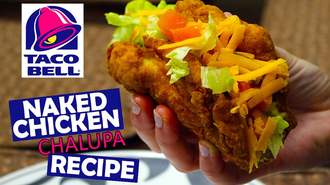 How to make taco bells naked chicken chalupa at home recipe youtube how to make taco bells naked chicken chalupa at home recipe forumfinder Image collections