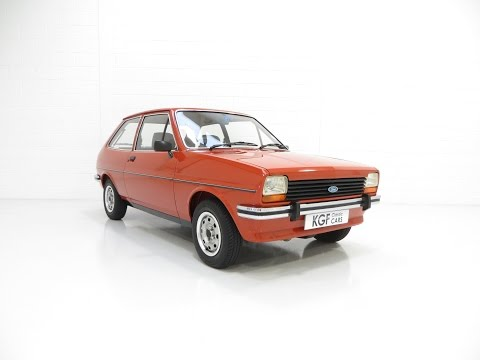 A Pristine Mk1 Ford Fiesta 1300GL with an Incredible 26,333 Miles From New - SOLD AGAIN!