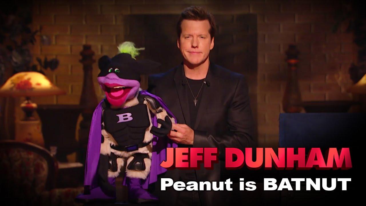"Download ""Peanut is BATNUT""    Minding the Monsters    JEFF DUNHAM"