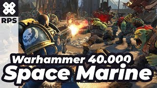 New Game - Warhammer 40.000: Space Marine - Gameplay - No Commentary (i5 + GTX 1060 3GB)