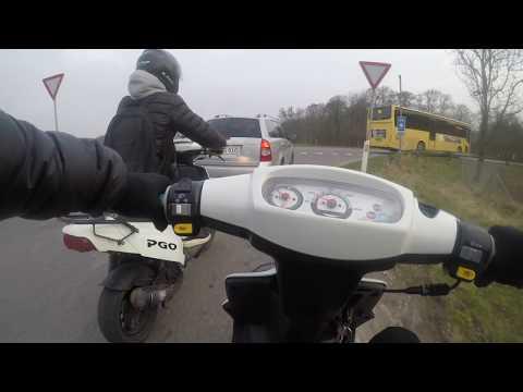 Montering af 70cc cylinder! | Trip to school