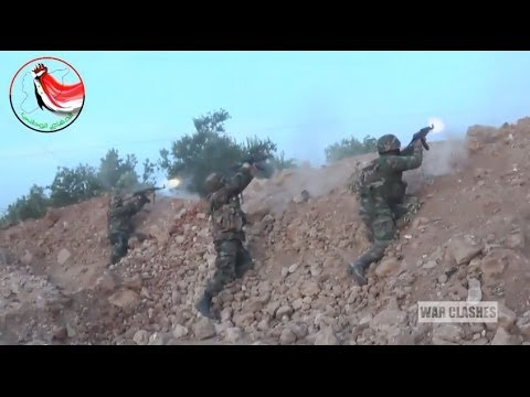 Syrian Army And NDF Forces In Heavy Combat With Rebels
