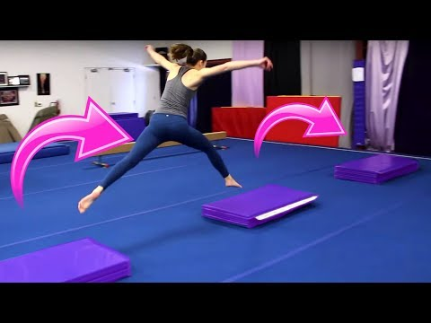 INTENSE Gymnastics Obstacle Course!