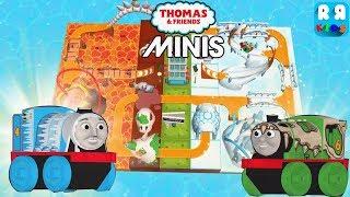 Takılıyorum Gordon ve Dino Percy ile Kendi Parça Lav ve Buz Parça oluşturmak - Thomas & Friends Mini