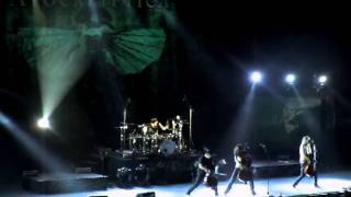 Apocalyptica - Hall of the mountain king @Mexico City (10Jan2012)