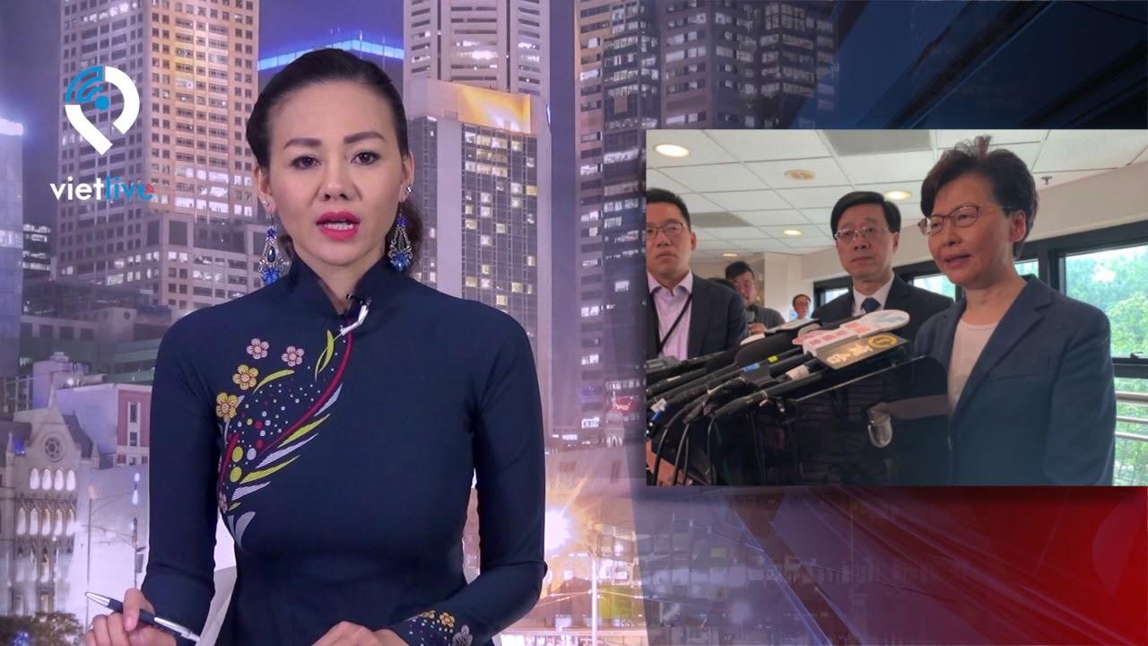 Lãnh đạo Hong Kong gọi người biểu tình là 'những kẻ bạo loạn'