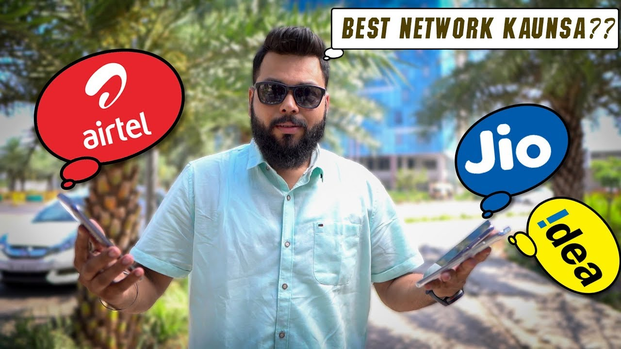 Which is the Best Mobile Network in India –Airtel vs Jio vs Idea -Real Life Test | OpenSignal Report