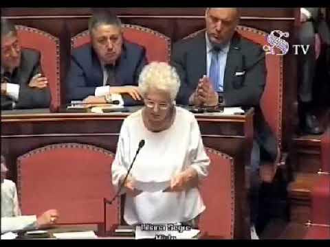 L'intervento di Liliana Segre (Gruppo Misto) al Senato per la fiducia al Governo Conte