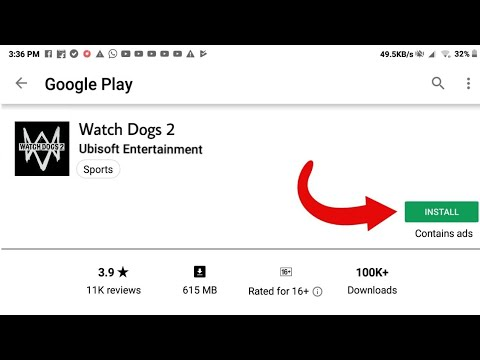 Download Watch Dogs 2 In Android From Play Store