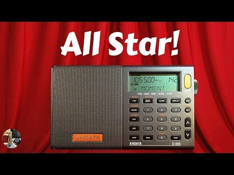 XHDATA D-808 AM FM SW SSB LW AIR Portable Radio Review