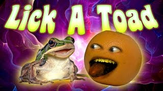 Annoying Orange - Lick a Toad!
